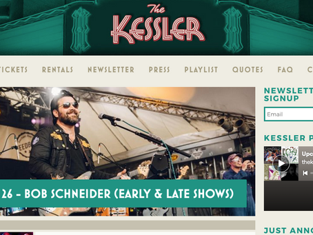 Grayscale Marketing has signed The Kessler Theater