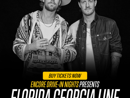Florida Georgia Line Concert Coming to Hundreds of Drive-In Theaters & Indoor Venues Across the U.S