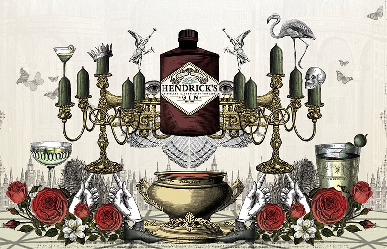 hendricks gin art