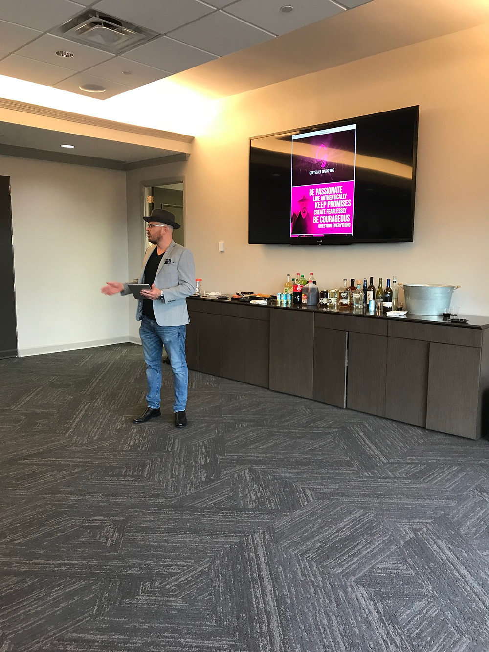 Tim Gray Grayscale Marketing CEO speaking at APA Nashville
