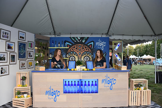 Milagro tequila brand marketing sponsorship activation