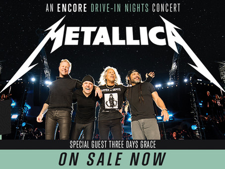 Metallica returns to the stage with Encore Live and Grayscale Marketing.