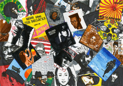 Vinyl drawing