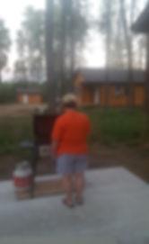 Shorebird Cabins BBQ