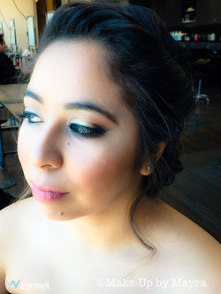AIRBRUSH PROM MAKEUP