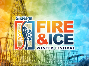 Six Flags Over Texas' All-New Fire & Ice Winter Festival is Underway!
