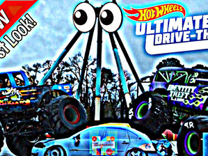 Hot Wheels Ultimate Drive-Thru Experience Media Day at Six Flags Over Georgia!
