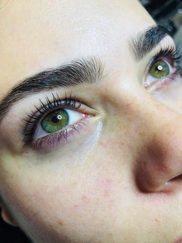 Eyebrow and Eyelash Lift