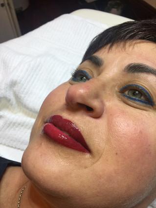 Cosmetic Lip Tattoo