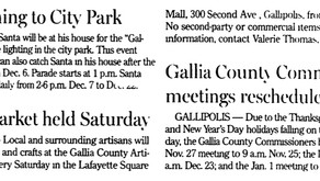 Gallipolis Daily Tribune 11/18/2014
