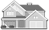 House Icon Black and White 001.png