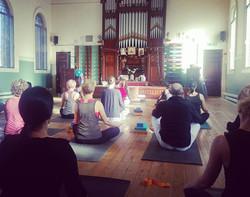 yoga space meditation
