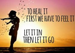 heal it feel it
