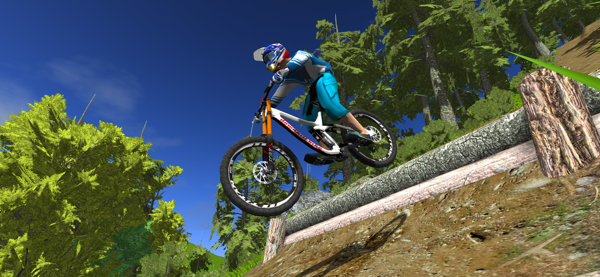 small drop in mtb game demo