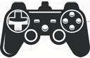 MTB Simulator with joystick, joypad, gamepad
