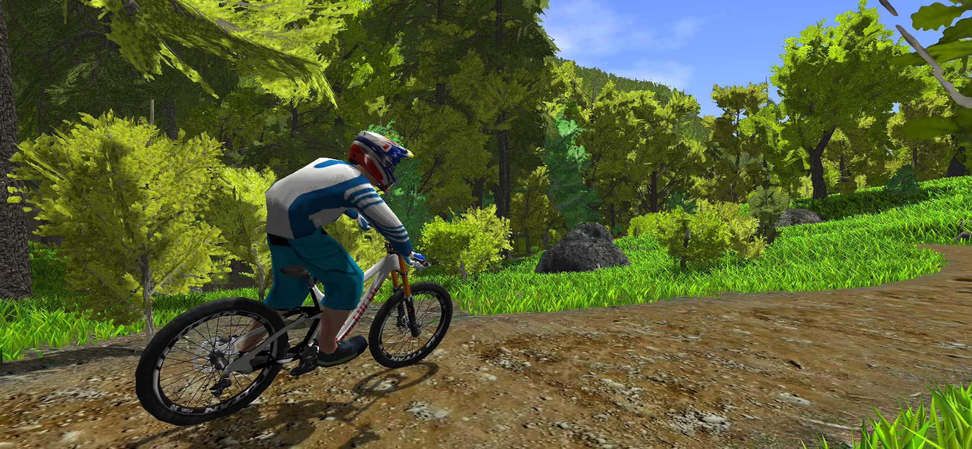 MTB game cross country trail