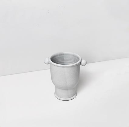 Alabaster White Vase