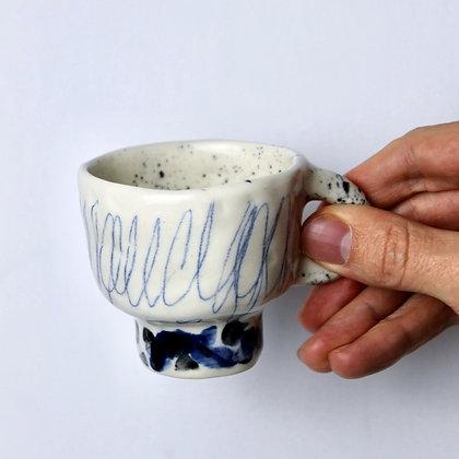 Espresso Scribble Mugs