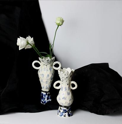 Porcelain Scribble Vase II