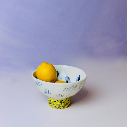 Pinched Scribble Bowl