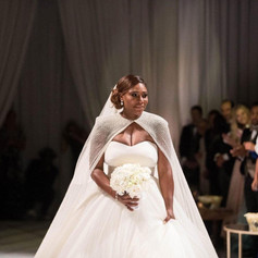 Serena Williams Wedding Dress, AMCQ