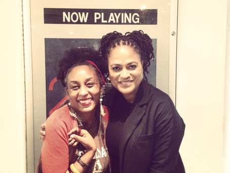 Me, Ava Duvernay & David Oloyewo @ Ferguson Film Forum