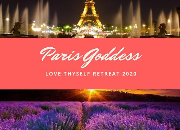 Paris Love Thyself Goddess Retreat 2020