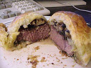 A photo of Beef Wellington