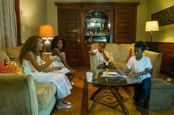 The Kids of A Wishing Well in Brooklyn Film , Mia Ella Clyburn, Myoki Nunn, Kobe Williams, Malachi B