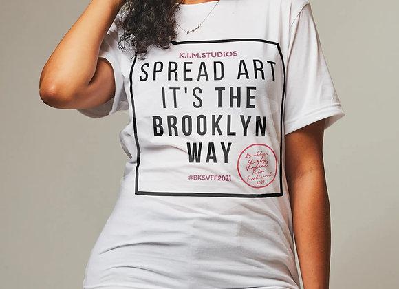 Spread Art T-shirt