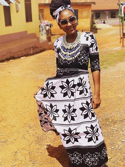 Gardenia Traditional Dress