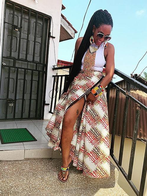 Akosa Wrap Skirt