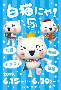白猫にゃ!5