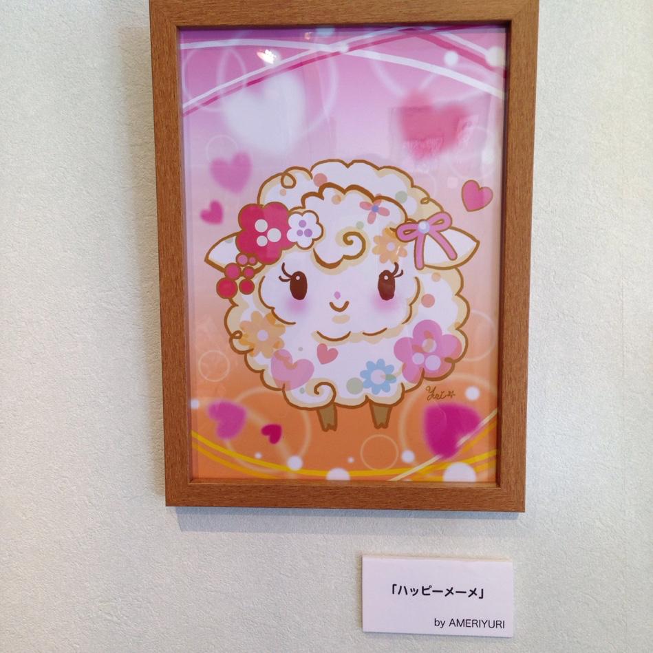 AMERIYURIさん作品展示