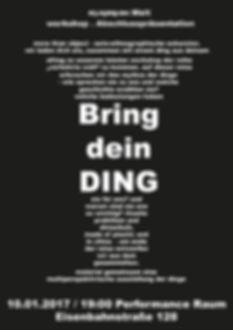 Plakat zur kollektive Aussellung
