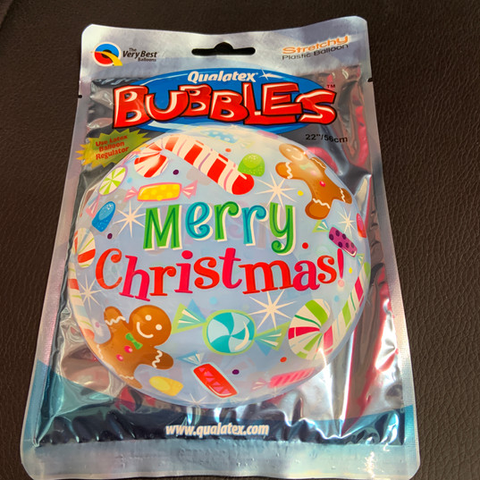Bubbles Merry Christmas