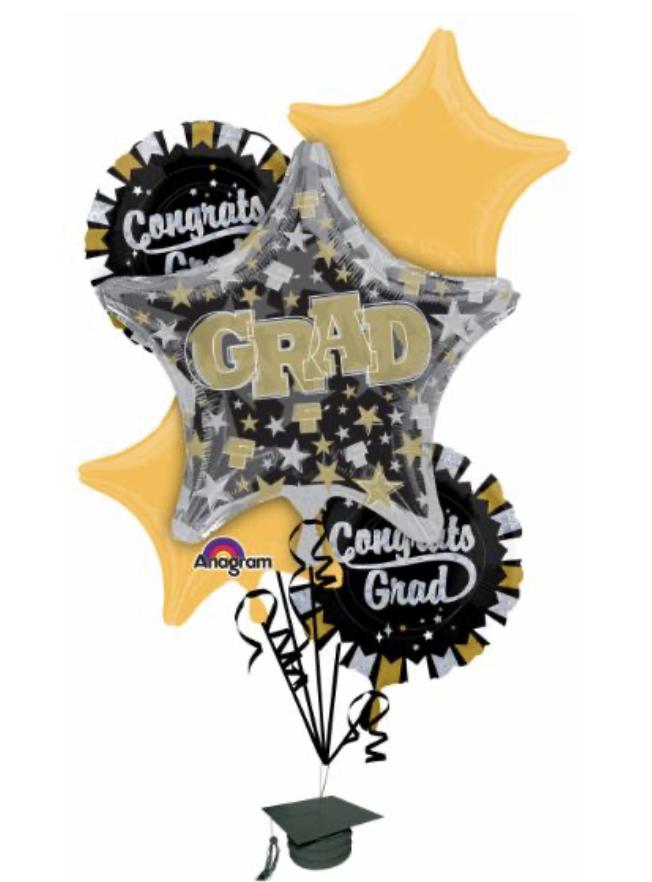 Grad Collection Gold Black Silver