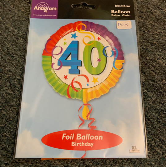 Birthday 40 Colour
