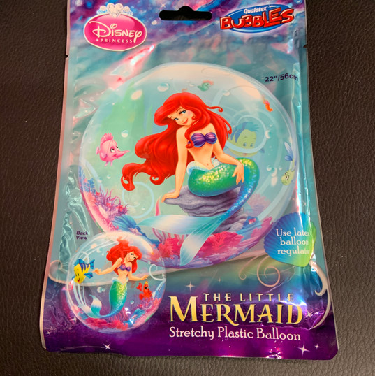 Bubbles Little Mermaid