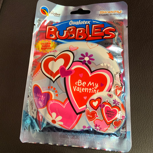 Bubbles Valentines