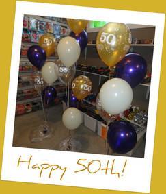 50th Birthday Bouquets