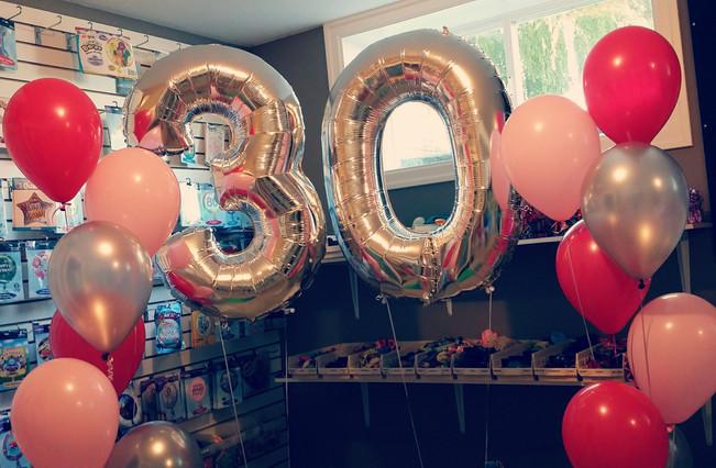 Large 30th