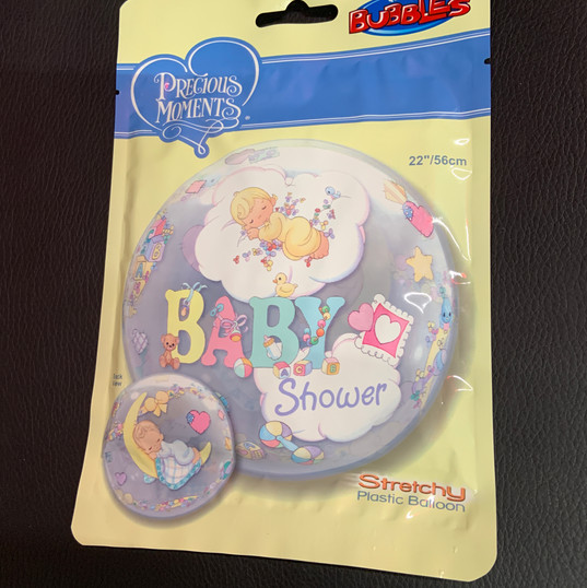 Bubble Baby Shower