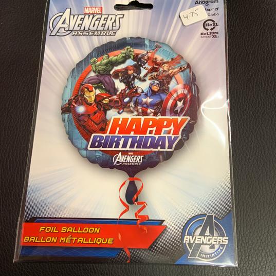 Happy Birthday Avengers