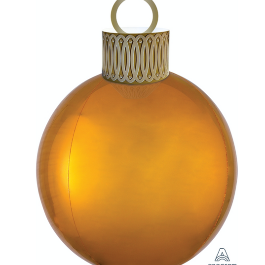 Orb Ornament Gold