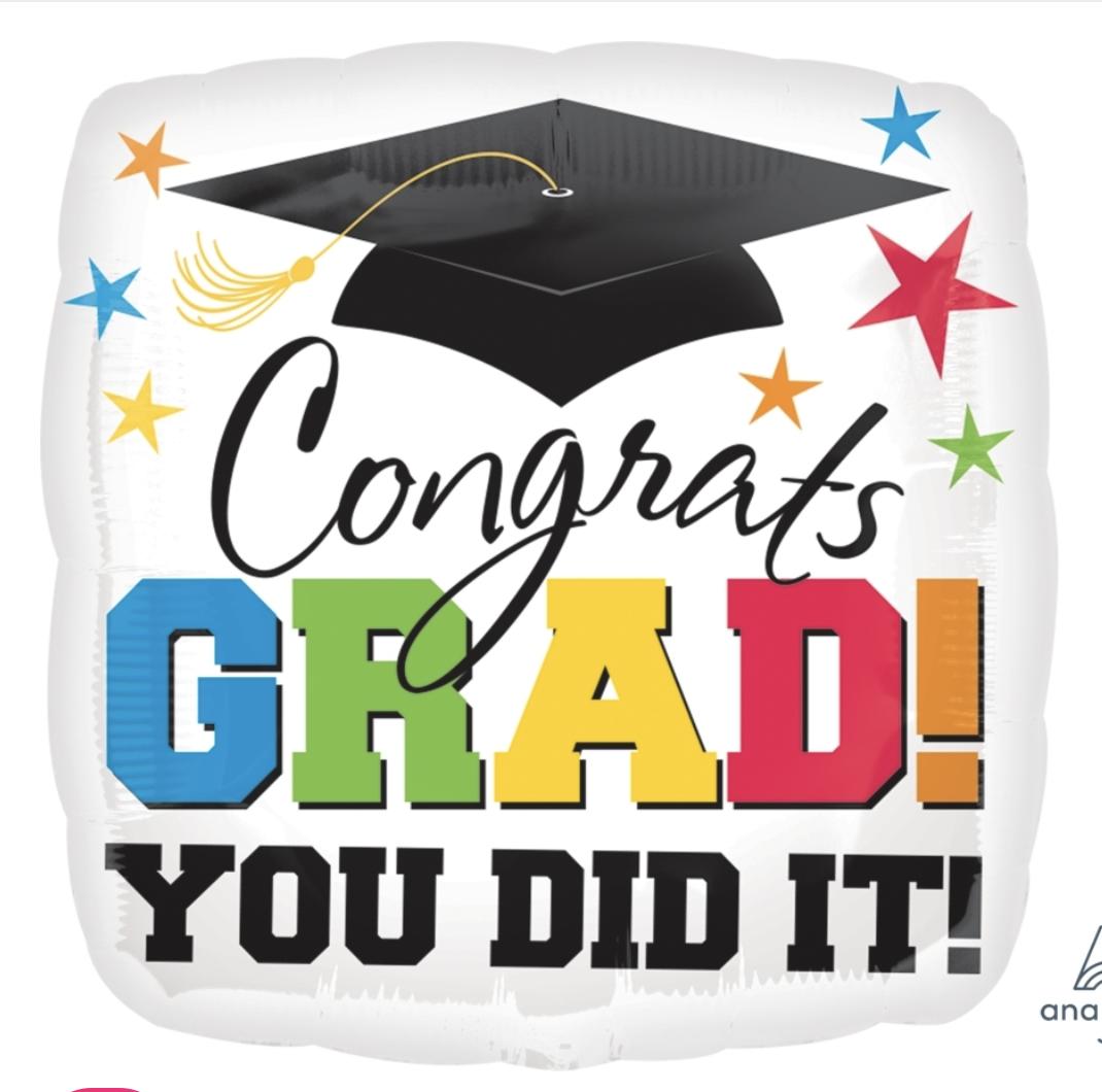 Grad You Did It