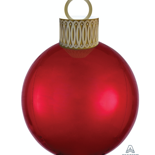 Orb Ornament Red
