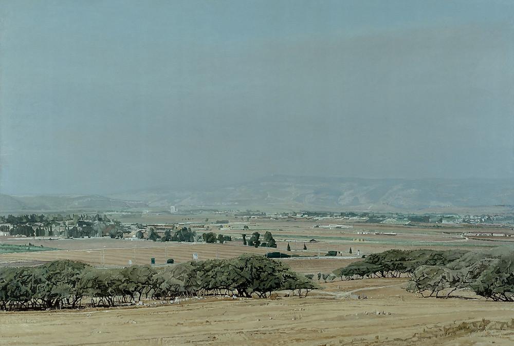 אלי שמיר, עמק יזרעאל מגבעות שמרון, 2002