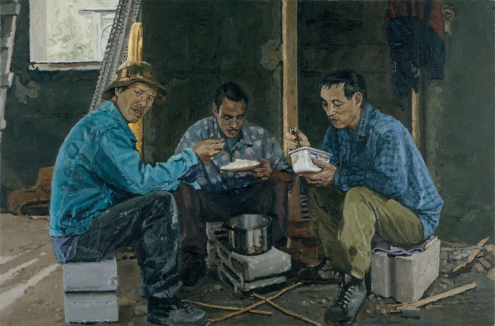 אלי שמיר, אוכלי האורז, 2003