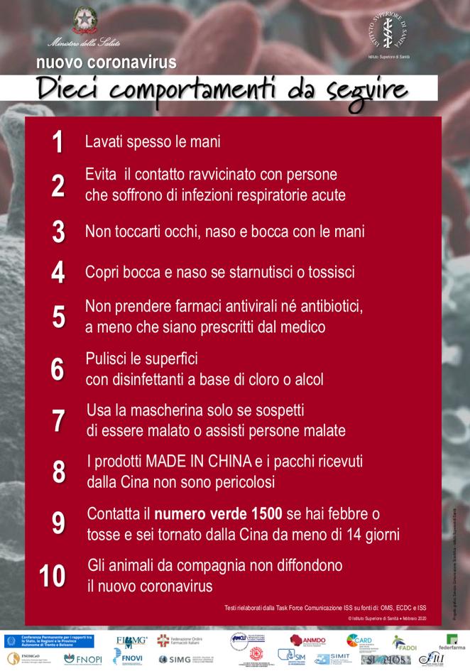 8 - DECALOGO COVID 19